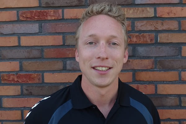 Jur Maatman buurtsportcoach BEL